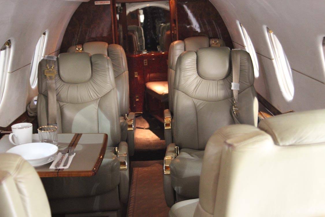Charter Services and Aircraft Management