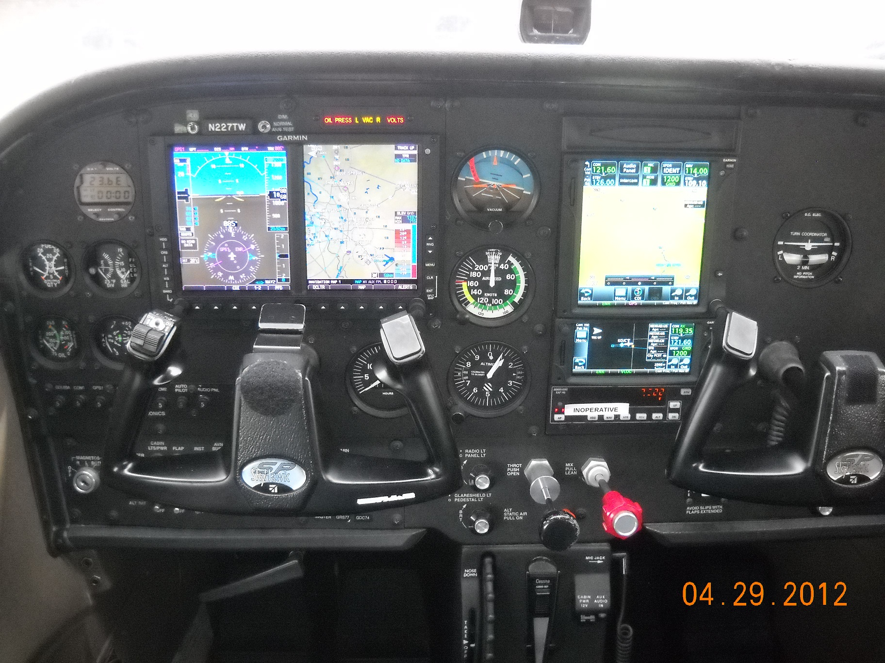 Is it possible to buy an older Cessna 172 and upgrade the cockpit to